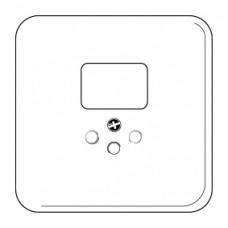 Abdeckplatte,1x1,86x86,weiss basico,shutter,für Kombi I/T12