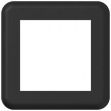 Abdeckplatte,1x1,86x86,schwarz ABB,Classic,Ausschnitt 55x55mm