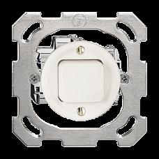 UP-Druckschalter,3/2L,weiss Standard,16A,Ø43,ohne Abdeckplatte PM