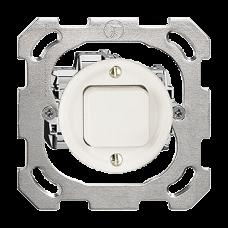UP-Druckschalter,3/1L,weiss Standard,16A,Ø43,ohne Abdeckplatte PM