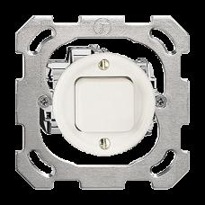 UP-Druckschalter 6/1L weiss Standard 16A Ø43 ohne Abdeckplatte PM
