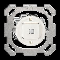 UP-Leucht-Drucktaster A-R/1L K weiss Standard 16A Frontlinse LED gelb PM