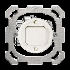 UP-Drucktaster A-R/1L weiss Standard 16A Ø43 ohne Abdeckplatte PM