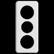 Abdeckplatte STANDARDdue 3×1,1×Ø58 1×Ø50 1×Ø58