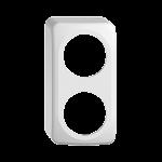 AP-Kappe STANDARDdue QX54 2×1 weiss 2×53mm