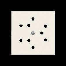 Frontplatte,3xT12,EDIZIOdue 60x60mm,F