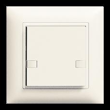 UP-Universaltaster 1x2 für Schraubklemmen EDIZIOdue ohne LED,FMI