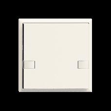 Universaltaster 1x2 für Schraubklemmen EDIZIOdue ohne LED,F