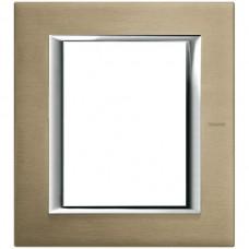 Abdeckrahmen Alu Titan Axolute 141.5×127mm