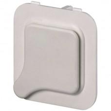 Abdeckplatte zu Notrufdrücker Typ ND/W und NDU/W, weiss
