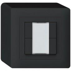 AP-Taster KAL KNX 4× schwarz s/e-link