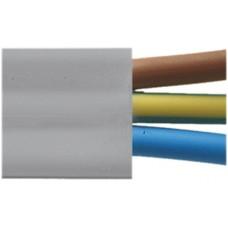 Flachkabel ecoline P3 Eca 3x2,5² hellgrau PVC