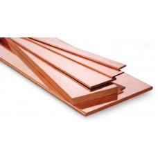 Kupfer-Schiene flach 12x3mm 3m lang 1m ca. 0.32kg