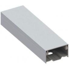 Alu-Installationskanal 35×20mm eloxiert Länge 2m Agro