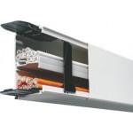 Installationskanal Tehalit 60x40mm LF 2 Meter Reinweiss/Cremeweiss/Lichtgrau/Braun