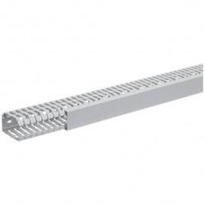 Verdrahtungskanal, tehalit BA7 60040 60x40mm,grau,PVC hart,2m lang