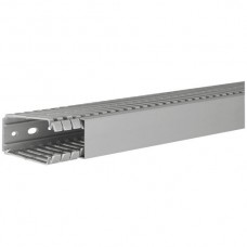 Verdrahtungskanal, tehalit BA7 80040 80x40mm,grau,PVC hart,2m lang