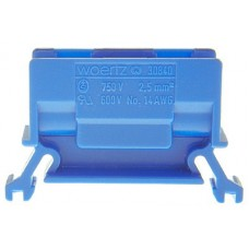Abzweigklemme Woertz 2.5mm² blau
