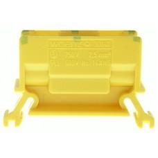 Abzweigklemme Woertz 2.5mm² gelb-grün