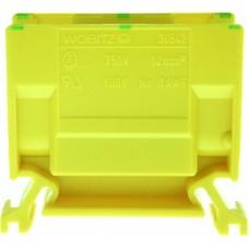 Abzweigklemme Woertz 10mm² gelb-grün