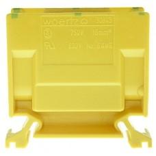 Abzweigklemme Woertz 16mm² gelb-grün