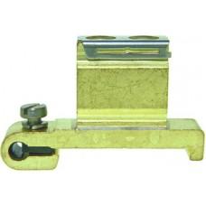 Schutzleiterklemme Woertz 10mm² M7 blank Serie 30380