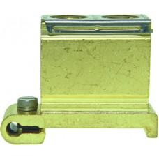 Schutzleiterklemme Woertz 35mm² M11 blank Serie 30380