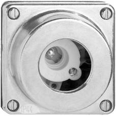 AP-Signallampe FH nass 10W E14 Alu natur ohne Schraublinse
