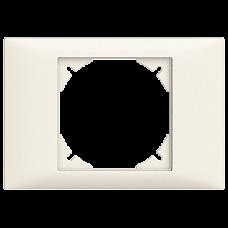 Abdeckrahmen,EDIZIOdue,80x115 BKE