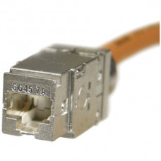 Buchse LANmark-7A Cat7A GG45/s 1000MHz, Keystone, für Draht