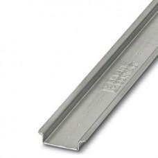 Profilschiene NS 35x15mm L=0,25m Stahl verzinkt ungelocht