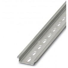 Profilschiene NS 35x7,5mm L=0,5m Stahl verzinkt gelocht