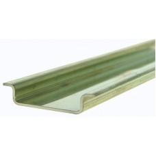 Tragschiene Stahl verzinkt 2m 35x7,3mm EN 50022-35