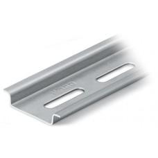 Profilschiene verzinkt gelocht L=2m 35x7,5mm, EN 50022-35