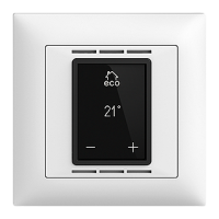 UP-Raumthermostat EDIZIOdue mit Display FMI