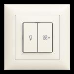 Sonnerie/Ventilation Schalter