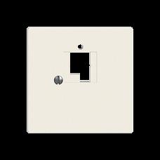Frontplatte EDIZIOdue colore TT83 1x T+T