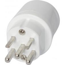 Netzstecker T25 weiss 16A 250/400VAC 3L+N+PE