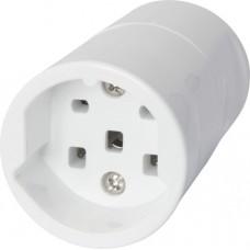 Kupplung T25 weiss 16A 250/400VAC 3L+N+PE