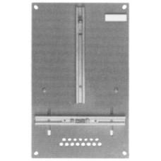 Zählerplatte BK 250x400x4mm AEK,BKW,CKW,EEF,EKZ,EWZ dunkelgrau 2741
