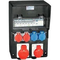 Stromverteiler Demelectric Hartgummi Typ 845 D20717