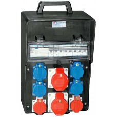 Stromverteiler Demelectric Hartgummi Typ 845 D20855