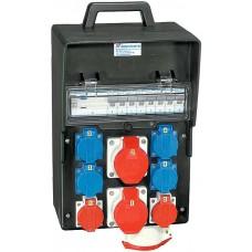 Stromverteiler Demelectric Hartgummi Typ 845 D31248