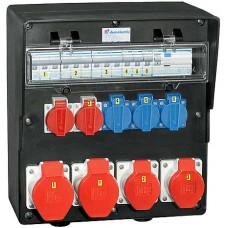 Stromverteiler Demelectric Hartgummi Typ 810