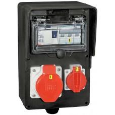 Stromverteiler Demelectric Hartgummi Typ 808
