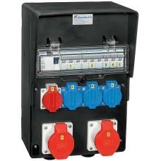 Stromverteiler Demelectric Hartgummi Typ 845 D32363