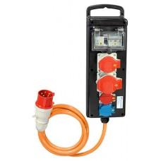 Stromverteiler Demelectric Hartgummi Typ 841