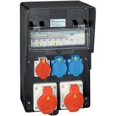 Stromverteiler Demelectric Hartgummi Typ 809