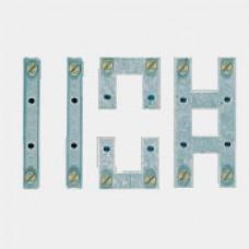 Montagebride Hager vertikal+horizontal GZ03A