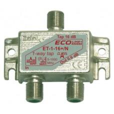 Abzweiger 1x ET-1-8+/N-G m.Modem Safe Cablecom